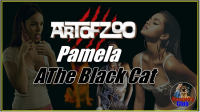 ArtOfZoo.Com - Pamela - The Black Cat