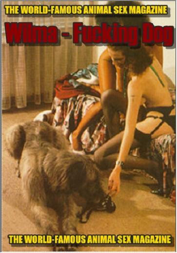 Vintage AnimalSex Magazine - Wilma - Fucking Dog