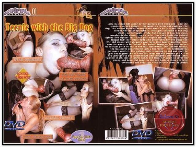 Animal Series 01- Teenie With The Big Dog