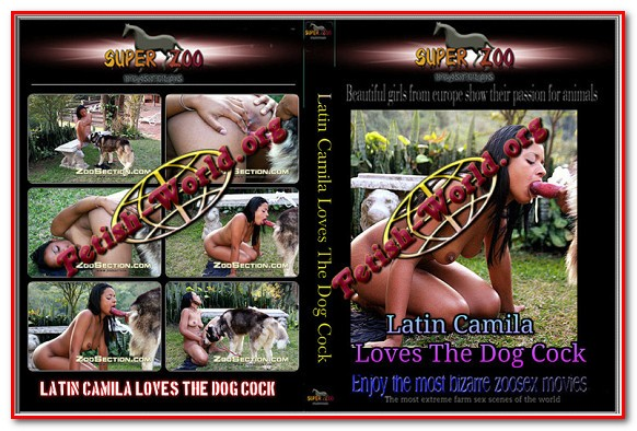 Super Zoo - Latin Camila Loves The Dog Cock