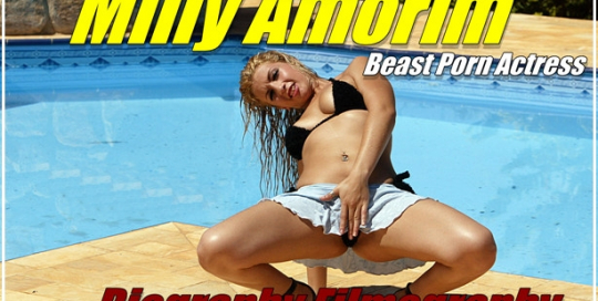 Milly Amorim - Animal Sex Actress