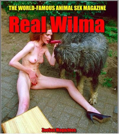 Vintage AnimalSex Magazine - Real Wilma 1