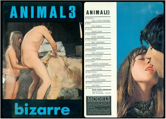 Vintage AnimalSex Magazine - Animal Bizarre 3
