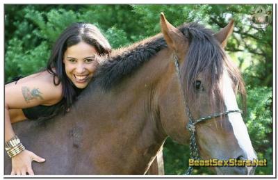 Monica Mattos - Horse Sex Scene - Bestiality movies - BeastSexStars.Net