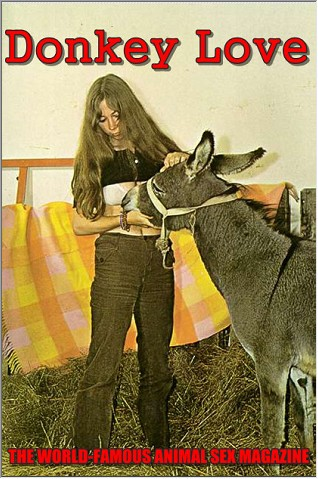 Vintage Animalsex Magazine Donkey Love 1 ⋆ Beastsexstars Net