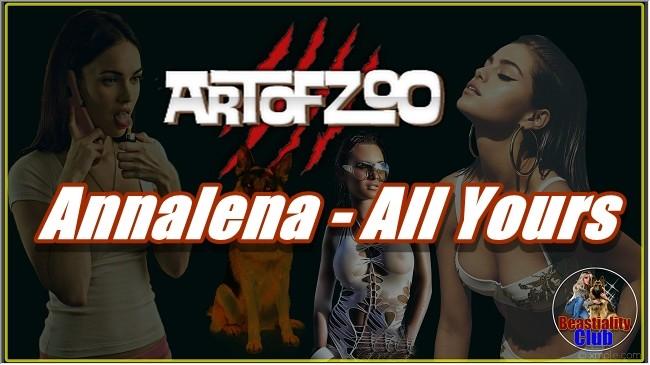 ArtOfZoo.Com - Annalena - All Yours