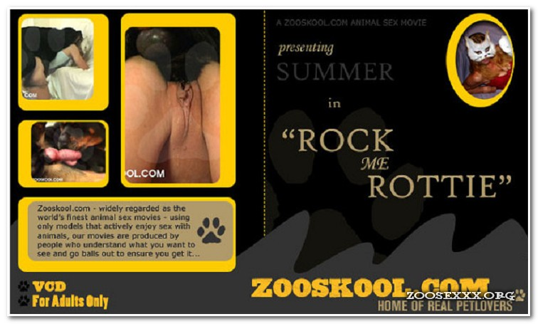 Home Of Real PetLover - Summer Rock Me Rottie