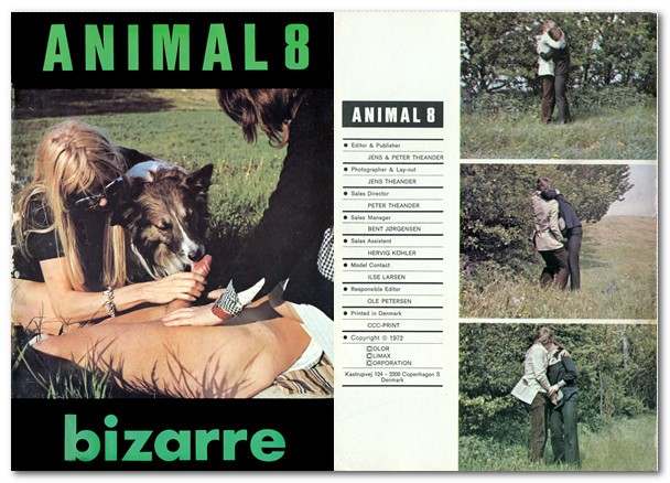Vintage Zoo Magazines - Animal Bizarre 8