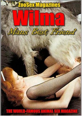 Vintage AnimalSex Magazine - Wilma - Mans Best Friend