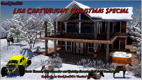 DarkSoul3D - Lisa CartWright - Christmas Special