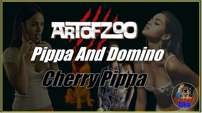 ArtOfZoo.Com - Pippa And Domino - Cherry Pippa
