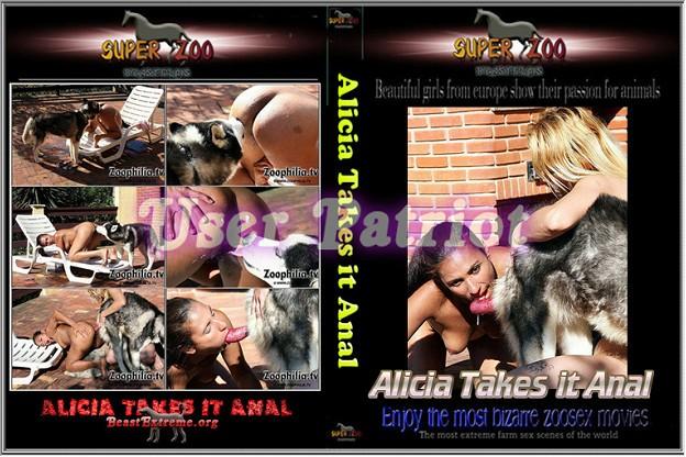 Super Zoo - Alicia Takes it ANAL