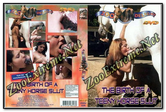 Zoo Delight - THE BIRTH OF A TEENY HORSE SLUT