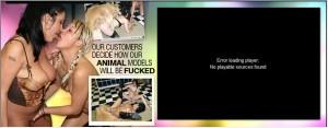 Live Animal Sex Shows