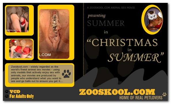 Home Of Real PetLover - Summer Christmas In Summer